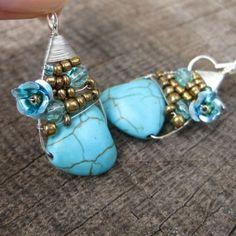 .. Drop Earrings, Jewelry, Fashion, Moda, Jewlery, Jewerly, Fashion Styles, Schmuck, Drop Earring