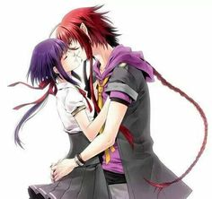 Kamigami no asobi Loki+Yui I Love Anime, Awesome Anime, Me Me Me Anime, Anime Guys, Manga Anime, Kamigami No Asobi Apollon, Another Anime, Manga Characters, Cute Anime Couples