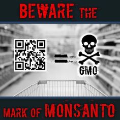 Boycott The QR Labeling That's A New Federal Branding Of GMO Food and Leave That Poison On The Grocery Shelf.