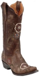 Old Gringo® Ladies Distressed Tyler w/ Floral Embroidery Snip Toe Western Boot | Cavender's