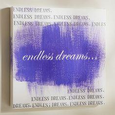 Endless Dreams http://rstyle.me/n/e7wvtnyg6