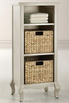 With Its Ideal Size The Camille Storage Baskets Will Help You Organize Your Bathroom