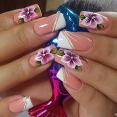 French Nail Designs, Beautiful Nail Designs, Beautiful Nail Art, Gorgeous Nails, Nail Art Designs, Pretty Toe Nails, Pretty Nail Art, Lily Nails, Hot Nails
