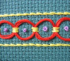 Stitch School: Incredibly helpful instructions for embroidery stitches.