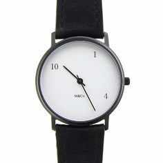 The Projects 10, One, 4 watch was the first of many ground-breaking watches to be designed by Hungarian-born designer Tibor Kalman. Inspired by something sketched by his wife, Maria Kalman, the 10, one, 4 watch was the first watch to be selected for the Permanent Design Collection at the famous New York Museum of Modern Art.