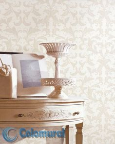 G34112 Damasks, Table, Vintage, Furniture, Home Decor, Decorative Paper, Paper Envelopes, Homemade Home Decor, Damask