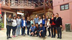 Liseli gençler ÖYKAM'ı ziyaret etti - Çınar Haber Ajansı