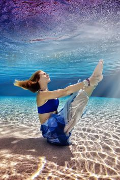 The skills of Adam Opris the underwater photographer are once again on display with this incredible collection of underwater yoga images.