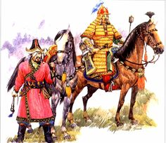 Genghis Khan's 'Dogs of War' - Jebe and One-eyed Subutai.