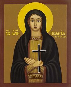 OCA - Virginmartyr Pelagia of Tarsus, in Asia Minor Thanksgiving Prayer, Sign Of The Cross, Christian Friends, Queen Of Heaven, Blessed Mother Mary, Persecution, Christianity, Saints, Aurora Sleeping Beauty
