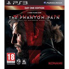 juego ps3 metal gear soldiv the phantom pain