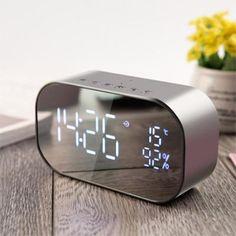 WOW Map Alarm Clock Cool Luminous Cool Colorful Electronic Clock