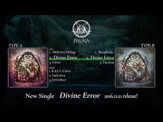 """Divine Error"" by JILUKA (single digest) – visual ioner"
