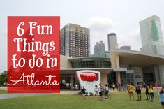 Here are 6 fun things to do in Atlanta, GA with children if you only have one day including the Georgia Aquarium, World of Coca-Cola, Civil Rights, CityPASS