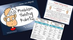 Blog post about evaluating problem solving...with a freebie for you to try out!