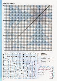 Choineczki - Urszula Niziołek - Picasa Webalbumok Crochet Doily Diagram, Crochet Chart, Filet Crochet, Knit Or Crochet, Learn To Crochet, Crochet Potholders, Crochet Doilies, Mug Rug Patterns, Christmas Crochet Patterns