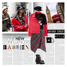 """""""Oxford Street Style"""" by stylepersonal ❤ liked on Polyvore featuring Post-It, Therapy, MANGO, River Island, Petersyn, Oxford, StreetStyle, fashionista, London and spring2018"""
