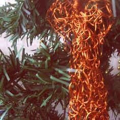 #ручная_работа#ангел#плетение#плетение_из_проволоки#проволока#handmade#angel#accessories#december#decor#decorative#