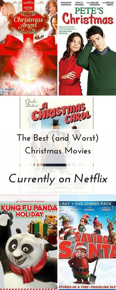 The Best (and Worst) Christmas Movies Currently on Netflix|The Holy Mess