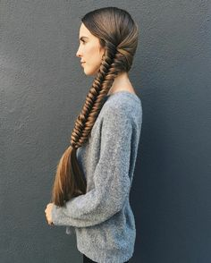 Thick Braid, Long Dark Hair, Long Braids, Super Long Hair, Beautiful Long Hair, Plaits, Fishtail, Hair Pins, Braided Hairstyles