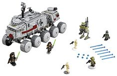 LEGO Star Wars Clone Turbo Tank 903PCS Playsets Building Toys -- Click image to review more details.