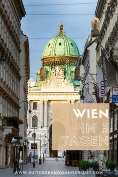 Wien i 3 Tagen. Dein Programm, Ein komplett program for Wien for 3 dager. Top Europe Destinations, Best Places In Europe, Cities In Europe, Solo Travel Europe, Camping Europe, Travelling Europe, European Travel, City Breaks Europe, Paris Itinerary