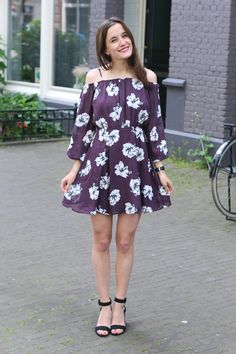 Outfit, Fashiable, fashion, blogger, River Island floral dress, ZARA heels