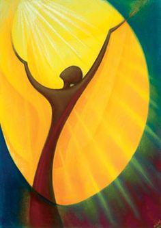 Prayer Banner or Poster - Praise by Sr Mary Stephen CRSS. Christian Symbols, Christian Art, Spiritual Paintings, Symbolic Art, Prophetic Art, Biblical Art, Turkish Art, Church Banners, Bible Art