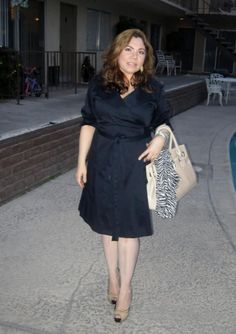 Chic and uber beautiful Yvett in IGIGI Boulangerie Wrap Dress