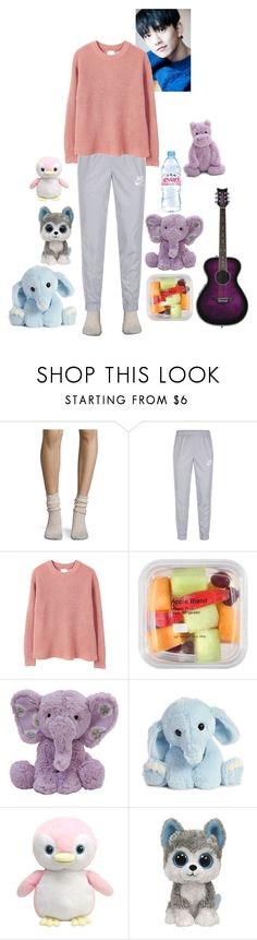"""""""Helios - V Live [Q&A]"""" by diamond-moon ❤ liked on Polyvore featuring Free People, NIKE, MANGO, Evian, Jellycat, country, men's fashion and menswear"""