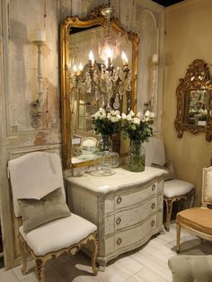 Antique Dealers Gold Mirrors Art Furniture Home Decoration French Country Velvet Range Stylists Hunters