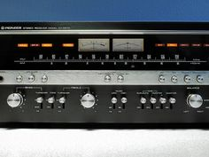 """""""Pioneer SX 5570 Vintage Stereo Receiver"""" !...  http://about.me/Samissomar"""