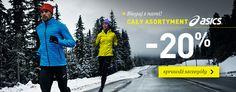 Kolekcja odzieży dla biegaczy marki Asic - promocja - 20 % w sklepie Landersen.pl