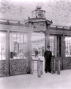 Union Station :: Washington, DC :: When it first opened in 1907, the 760 ft. Concourse was the largest room in the world.