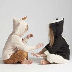 Hoodie dublat reversibil Oeuf baby alpaca - Skunk Kids Winter Fashion, Kids Fashion, Baby Hoodie, Winter Hats, Fall Winter, Autumn, Baby Alpaca, Christmas Gifts, Sweatshirt
