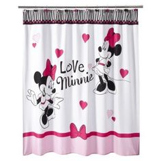 Image Result For Mickey And Minnie Mouse Shower Curtain Hooks