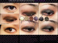 Romantic eye makeup tutorial..