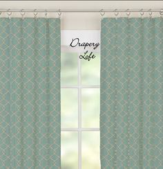 Drapes custom made indoor outdoor waverly fabric - Custom made outdoor curtains ...