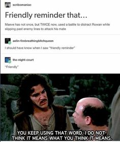 "Empire of storms-I don't think our fandom knows what ""friendly"" means."