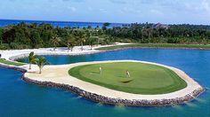 | Dominican Republic enjoy Punta Cana Golf Course front ... | Mi orgul ...