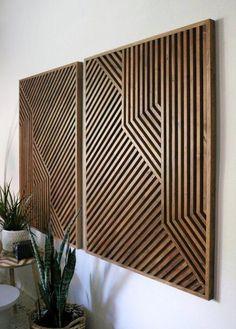 Wood Art, Wood Wall Art, Geometric Wood Art, Geometric Wall Art, Reclaimed Wood Art - Decor is life Wooden Wall Art, Wooden Walls, Wall Wood, Wood Wall Design, Vintage Wall Art, Vintage Walls, Into The Woods, Reclaimed Wood Art, Diy Holz