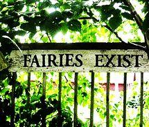 fairies exist sign for my garden Fairy Dust, Fairy Land, Fairy Tales, Love Fairy, Believe In Magic, My Secret Garden, Secret Gardens, New Energy, Plantation