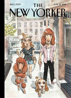 Cover by Ana Juan, February 8, 2010, from The Big New Yorker Book of Dogs