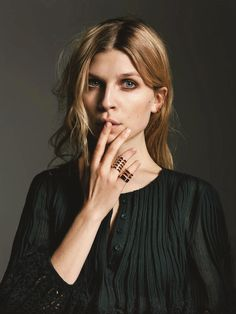 Clemence Poesy - Photoshoot for Telva May Clemence Poesy Style, Outfits and Clothes. Clemence Poesie, Fleur Delacour, Ordinary Girls, French Actress, French Girls, French Chic, Parisian Chic, Celebs, Celebrities