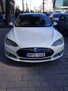 Tesla Model S in Hungary