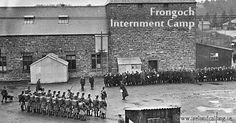 Release of prisoners from Frongoch internment camp, 1916.