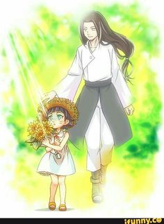 Neji and Hianata's little girl ♥