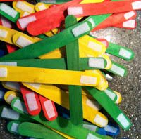 Quiet Time Activity - Velcro Stix