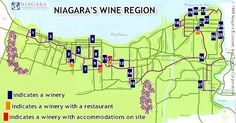 niagara on the lake wineries printable map - - Yahoo Image Search Results