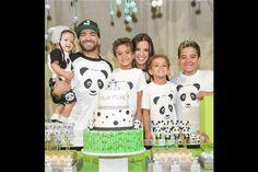 La imagen: así celebró Nacho el primer año de su hijo Matías